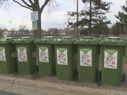 organics bins